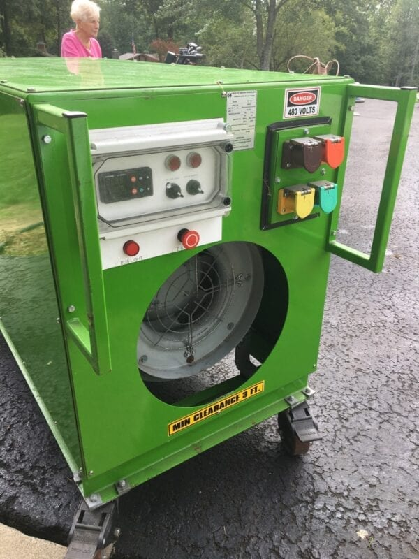Commercial grade heavy duty heaters designed for many years of reliable use.